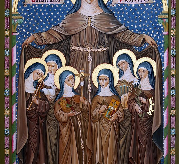 Vrouwelijke heiligen