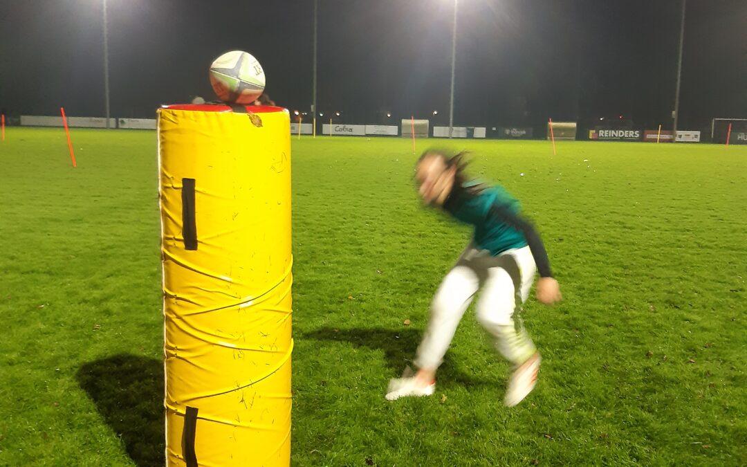 Rugby: houd je ogen op Hem gericht in het midden van de strijd.