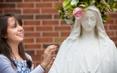 Toegewijd aan Maria